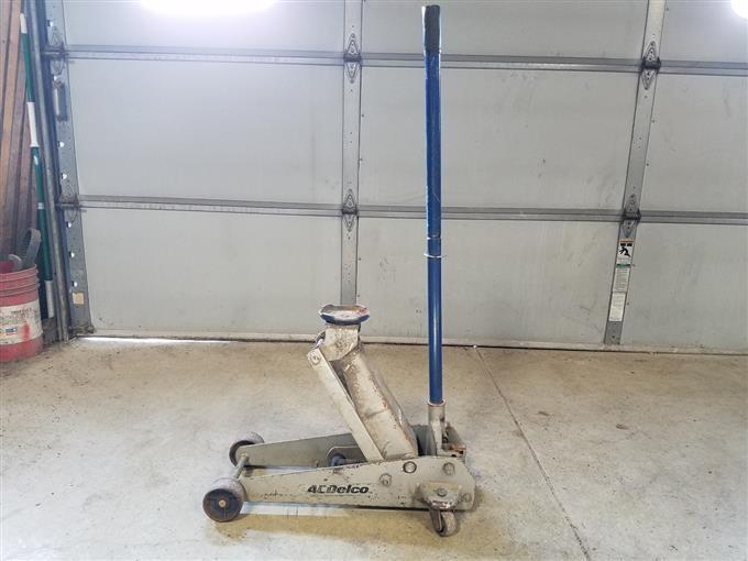 Ac Delco 3 Ton Floor Jack Bigiron Auctions