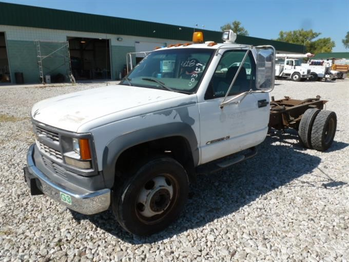 2000 Chevrolet 3500 HD Cab & Chassis BigIron Auctions