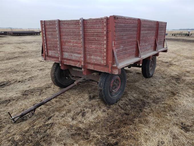 4 Wheel Running Gear Wooden Box Bigiron Auctions