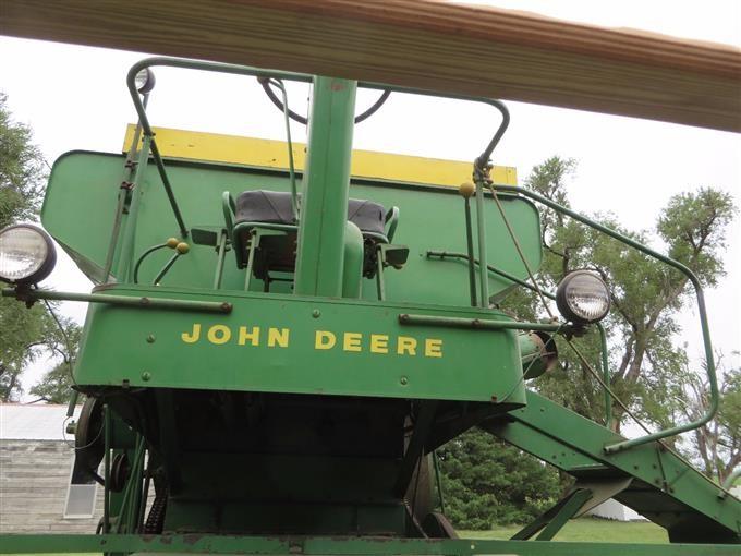 1961 John Deere 55 Combine And Header BigIron Auctions