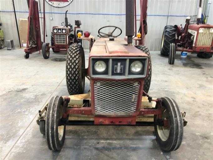 1978 International 284 2WD Tractor W/Woods L306 Belly Mower BigIron