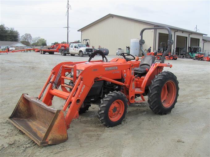 2006 Kubota L2800DT Tractor With LA463 Loader BigIron Auctions