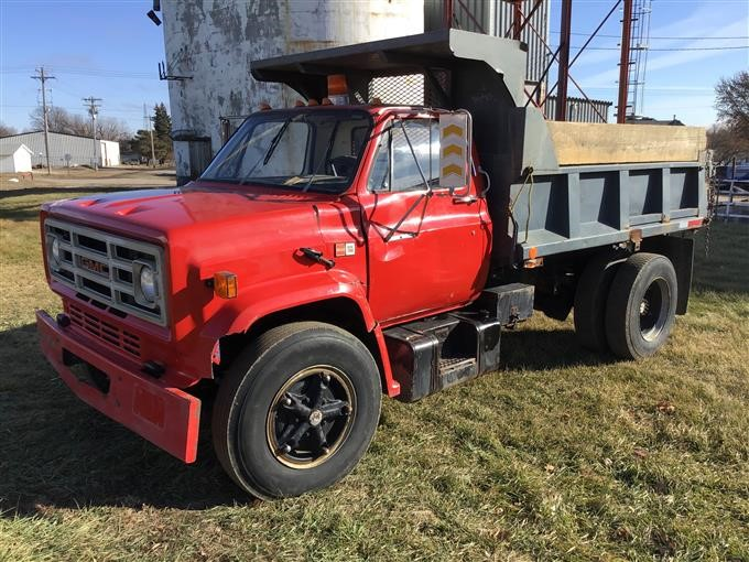 1988 Gmc 7000 Dump Truck Bigiron Auctions