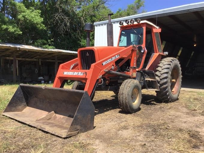 1981 Allis-Chalmers 7045 2WD Tractor W/Loader BigIron Auctions