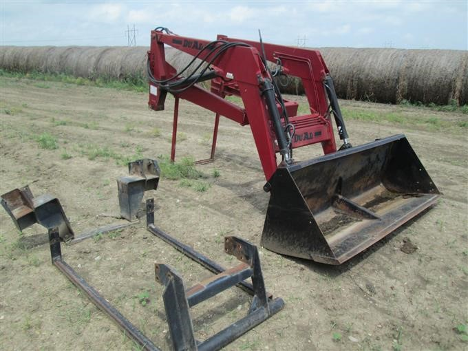 Du-Al 205 Quick-Attach Tractor Mounted Loader BigIron Auctions