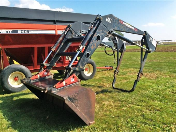 Westendorf TA-76 Traction-Action Loader BigIron Auctions