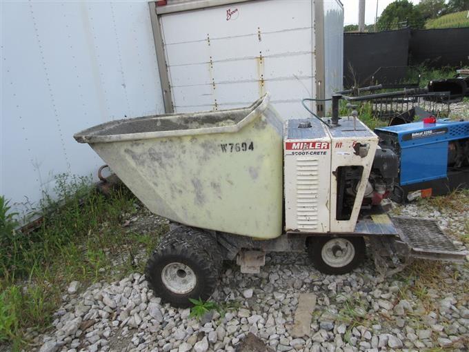 Miller Scoot-Crete Concrete Buggy BigIron Auctions