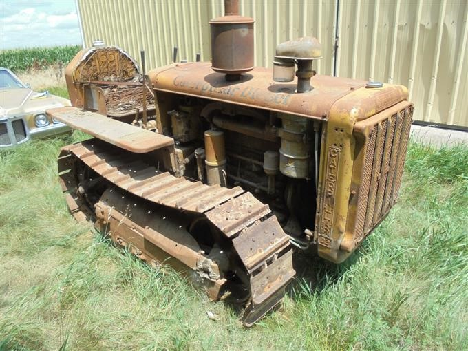 1938 Caterpillar D2 Narrow Gauge Crawler Tractor BigIron Auctions