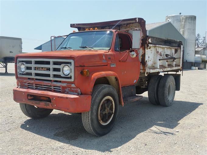 1979 Gmc 7000 Dump Truck Bigiron Auctions
