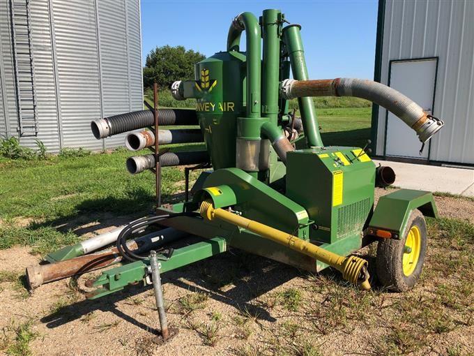 1989 Convey Air 4005 SD Pneumatic Grain Vac BigIron Auctions
