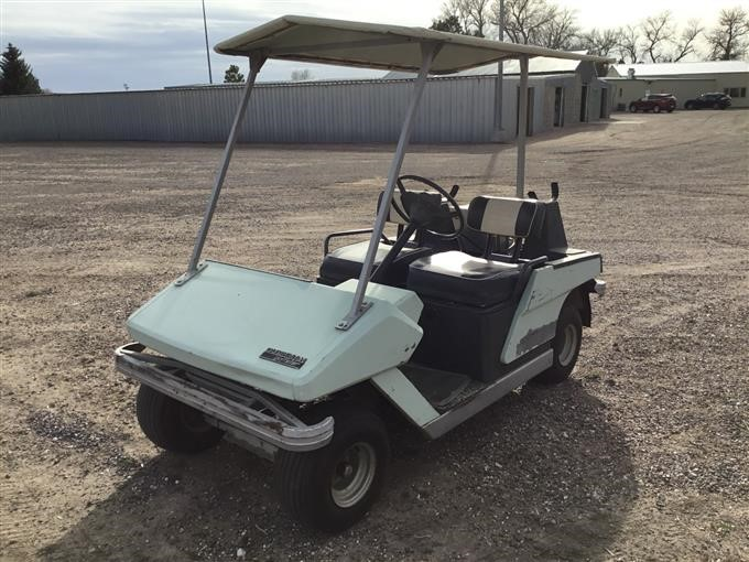 1975 Cushman Golfster Electric Golf Cart BigIron Auctions