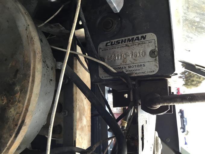 1975 Cushman Golfster Electric Golf Cart Bigiron Auctions