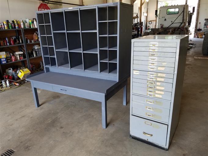 Bolt Storage Bins Storage Cabinet Bigiron Auctions