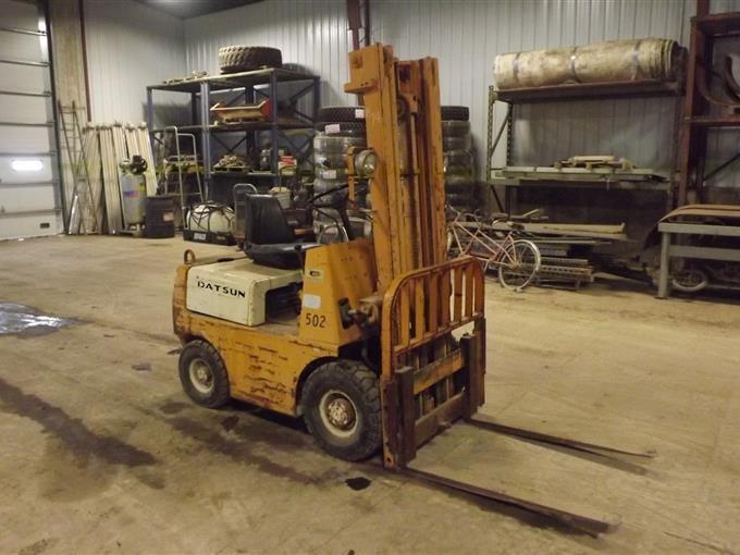 Datsun Gas Forklift BigIron Auctions