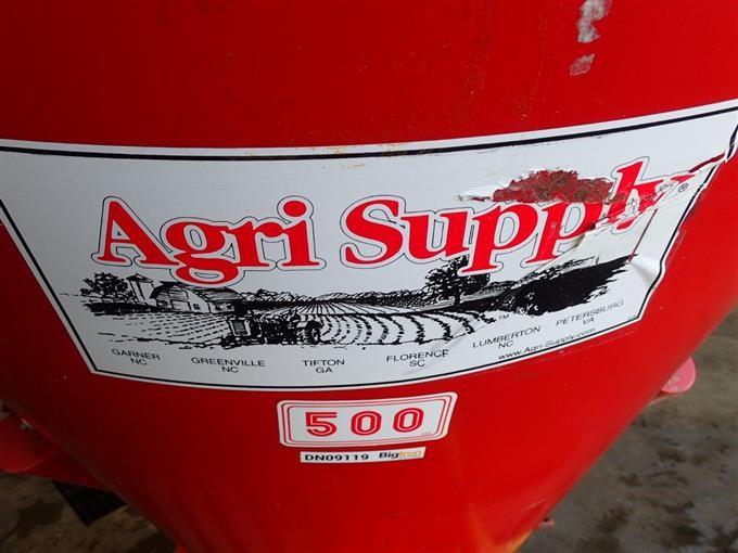 Agri Supply 500 Fertilizer/Seed Spreader BigIron Auctions