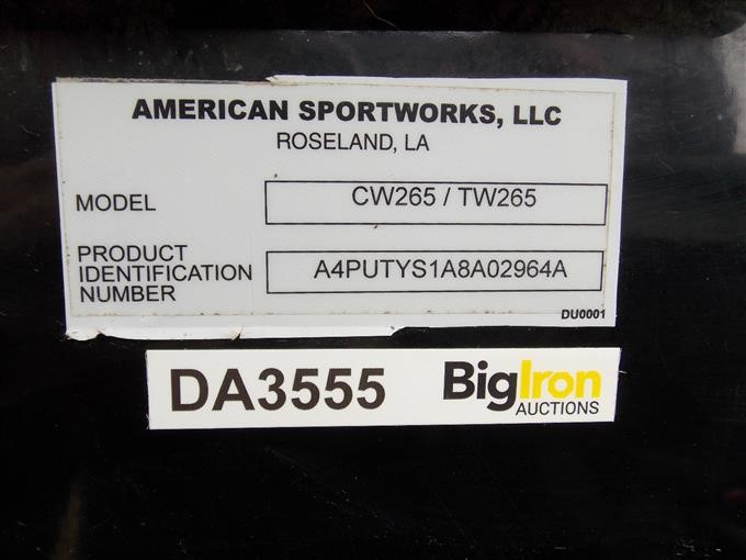 2008 American Sportworks TW265 Trail Wagon UTV BigIron Auctions