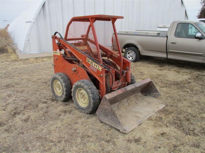 Gehl HL 2500-A HydraCat Skid Steer BigIron Auctions