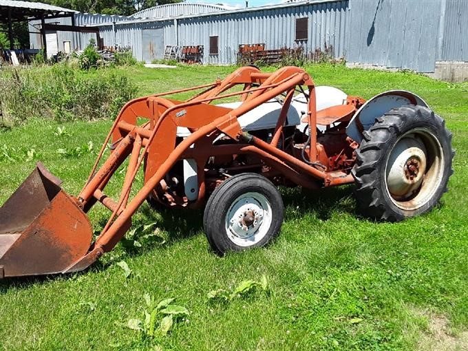 1952 Ford 8N 2wd Tractor W/Loader BigIron Auctions