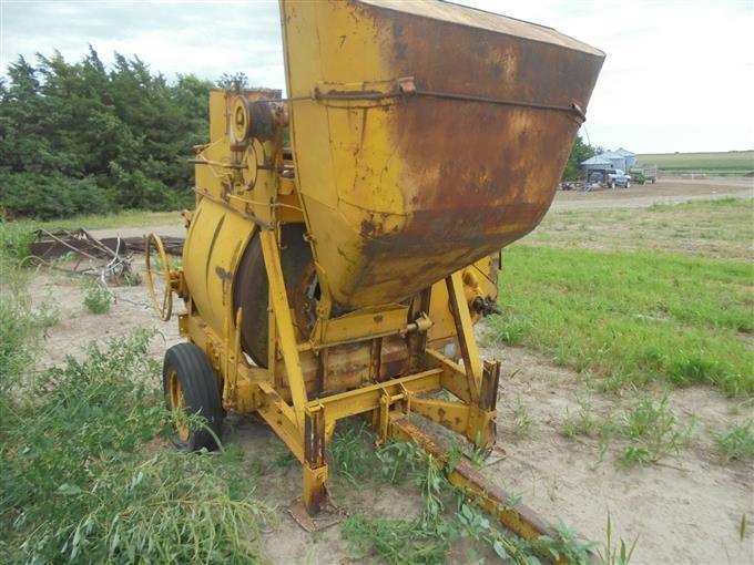 buy online 1b389 80937 Rex 11S Cement Mixer BigIron Auctions