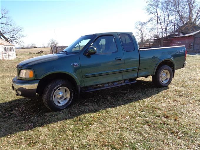 2000 ford f150 4 door 4x4
