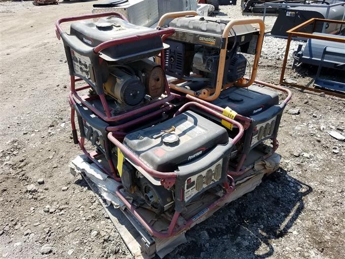 Generac & Powermate Generators BigIron Auctions