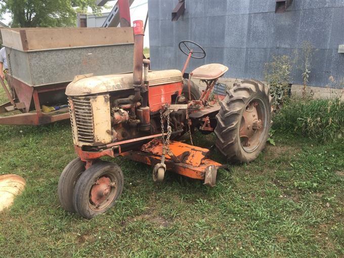 Case Vac Tractor Data : Bigiron