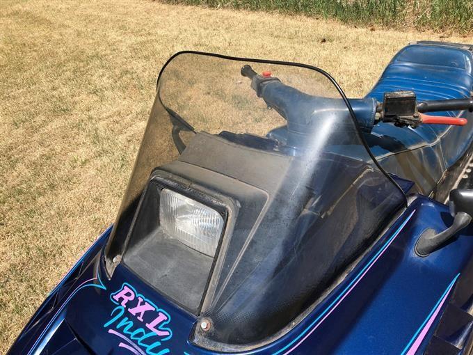 1991 Polaris Rxl Indy 650 Snowmobile Bigiron Auctions