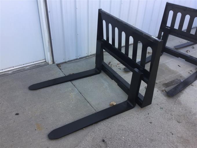 Versatec Skid Steer Fork BigIron Auctions