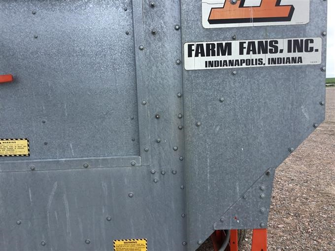Farm Fans CF/AB-270 Grain Dryer BigIron Auctions Farm Fans Grain Dryers Wiring Diagram on