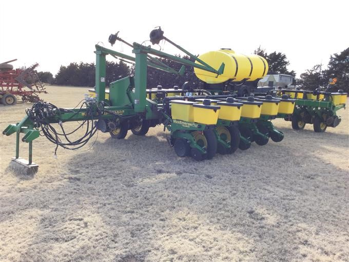 1998 John Deere 1770 Conservation 16 Row Planter Bigiron Auctions