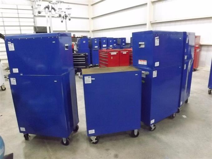 Mastercraft Blue Rolling Tool Boxes Bigiron Auctions