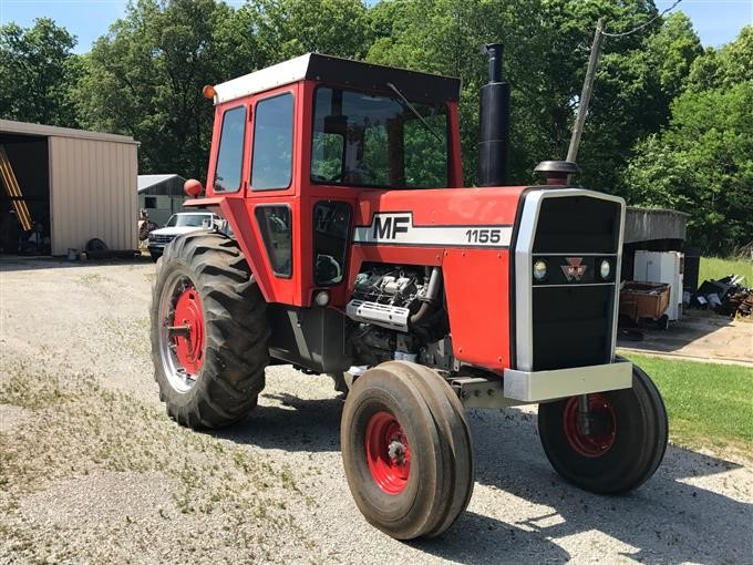 1974 Massey Ferguson 1155 2WD Tractor BigIron Auctions