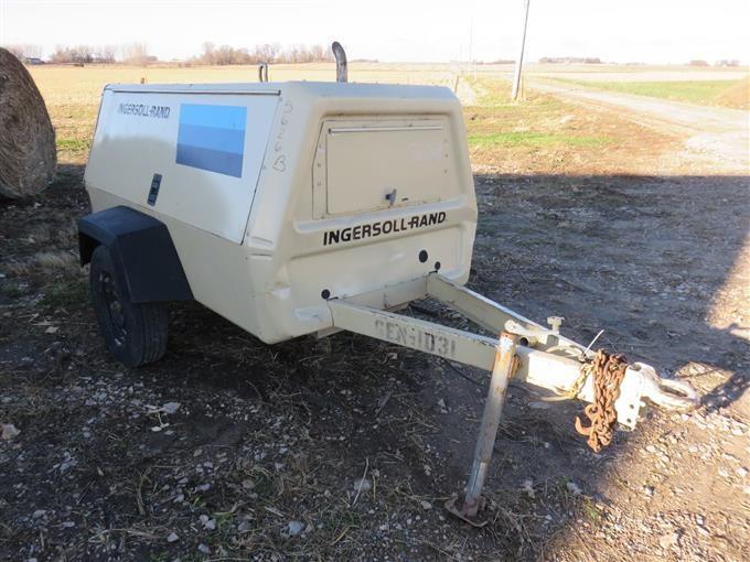 1997 Ingersoll Rand GEN-1031 50 Kw Diesel Generator BigIron