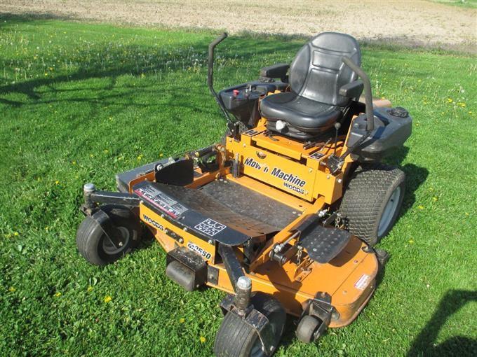Woods M2560 Zero Turn Lawn Mower Bigiron Auctions