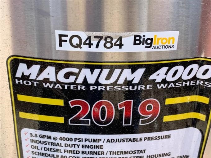 2019 Easy-Kleen Magnum 4000 Series Hot Water Pressure Washer