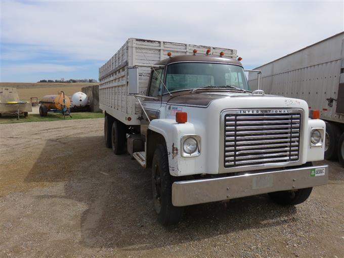 1977 International 1700 Loadstar Grain Truck Bigiron Auctions