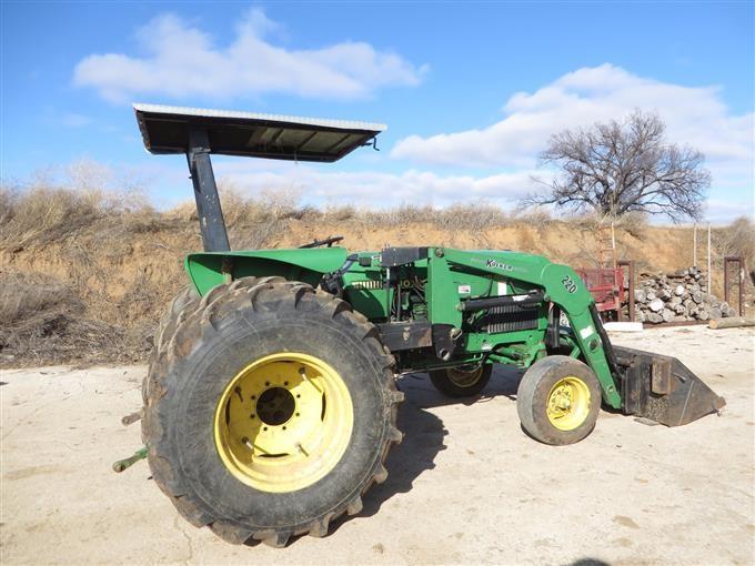 1987 John Deere 2755 2wd Tractor W  Loader Bigiron Auctions