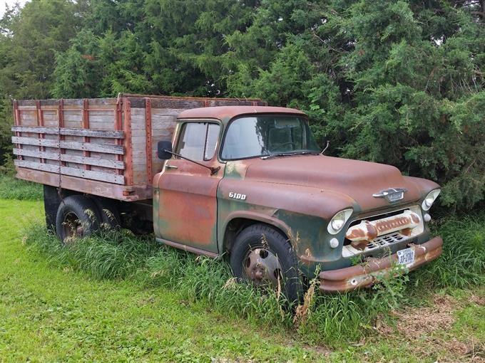 1955 Chevrolet 6100 Grian Truck Bigiron Auctions
