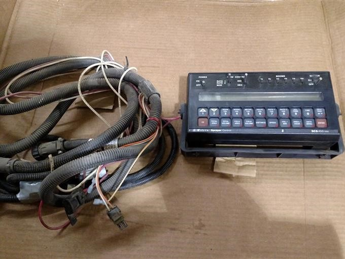 Raven Scs 450 Num Monitor With Radar And Wiring Harness