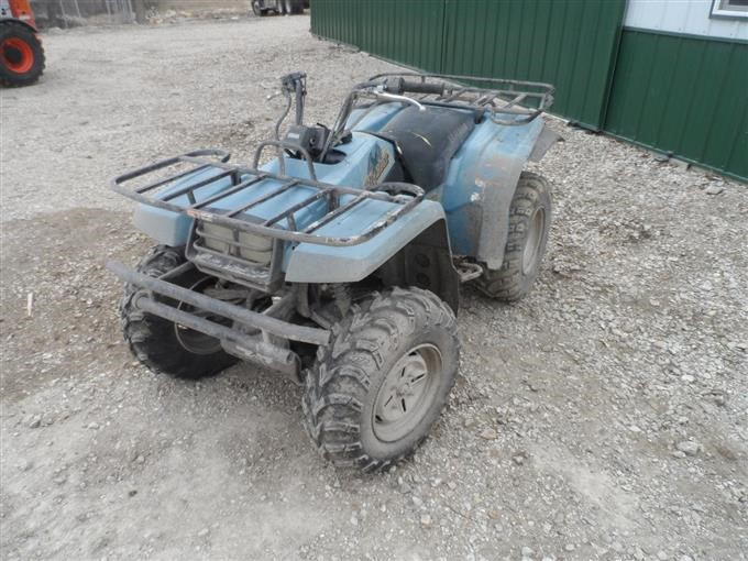 1994 Yamaha Big Bear 350 4x4 ATV For Parts BigIron Auctions on