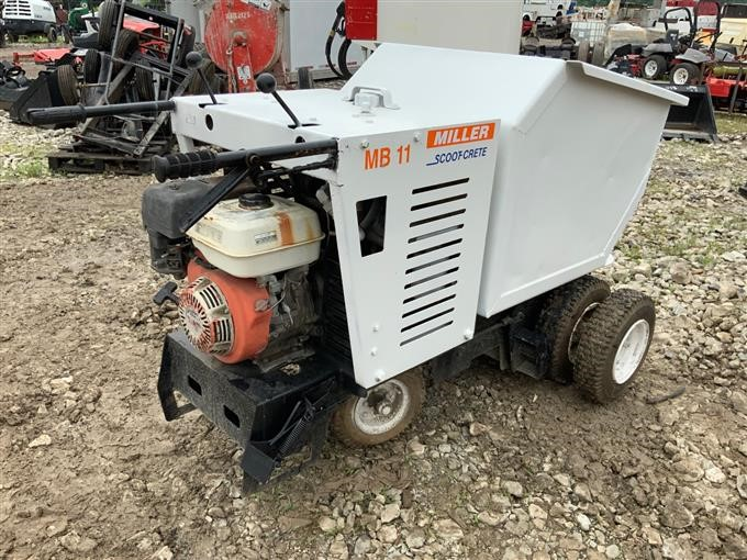 Miller MB 11 SCOOT-CRETE Concrete Buggy BigIron Auctions