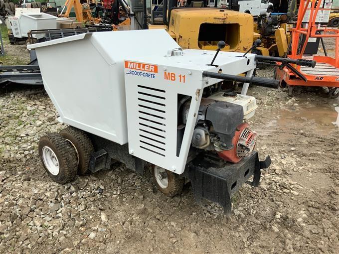 Miller MB 11 SCOOT-CRETE Concrete Buggy BigIron Auctions