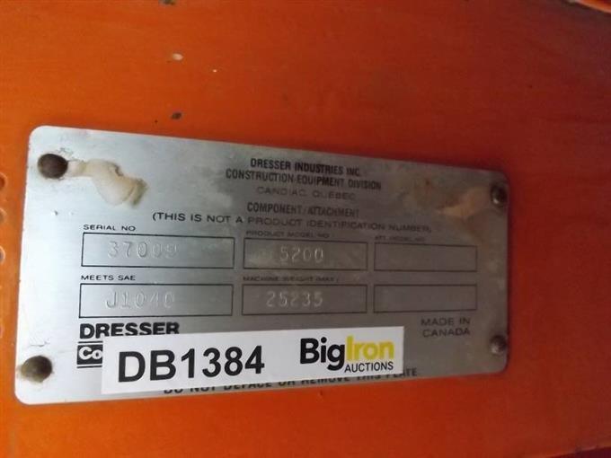 Dresser 515B Wheel Loader For Parts BigIron Auctions