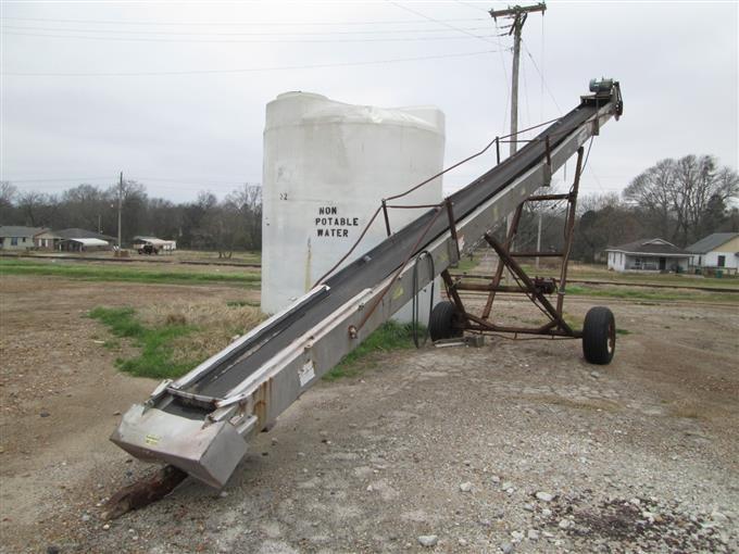 2004 Adams Portable Conveyor Belt BigIron Auctions