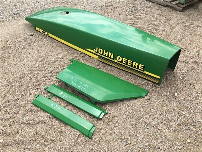 John Deere B Hood : Bigiron