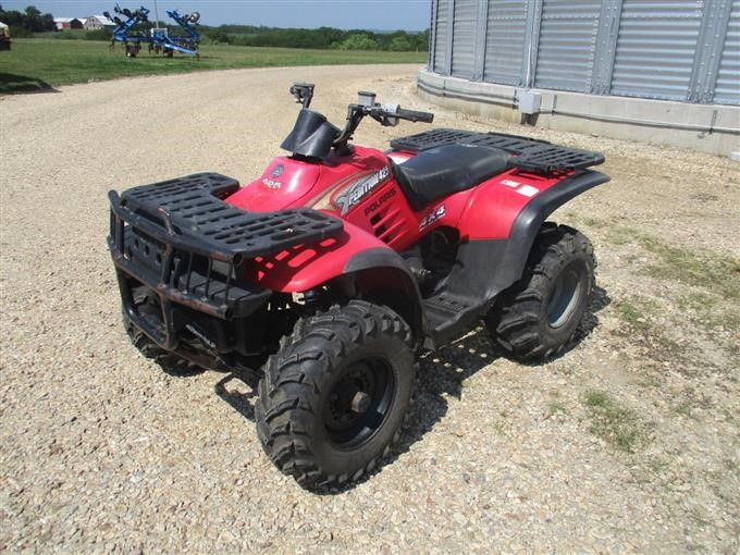 2000 Polaris Xpedition 425 4X4 ATV BigIron Auctions