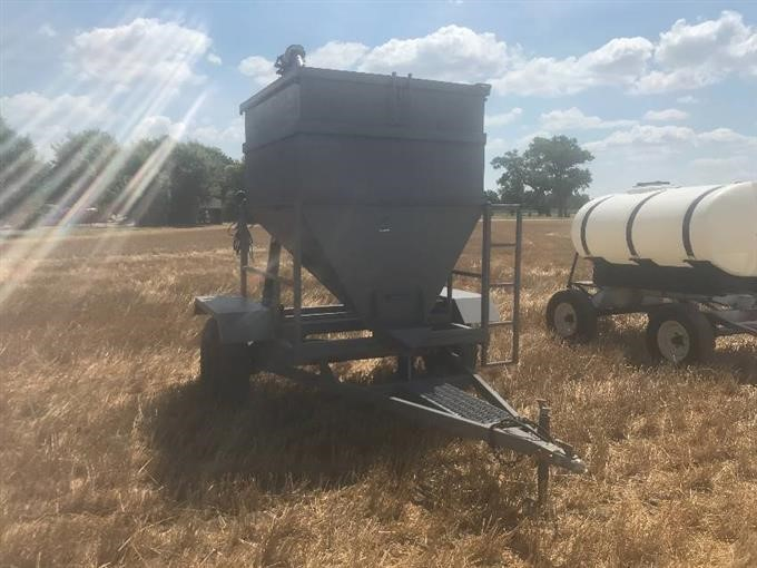 Homemade Grain Hopper BigIron Auctions