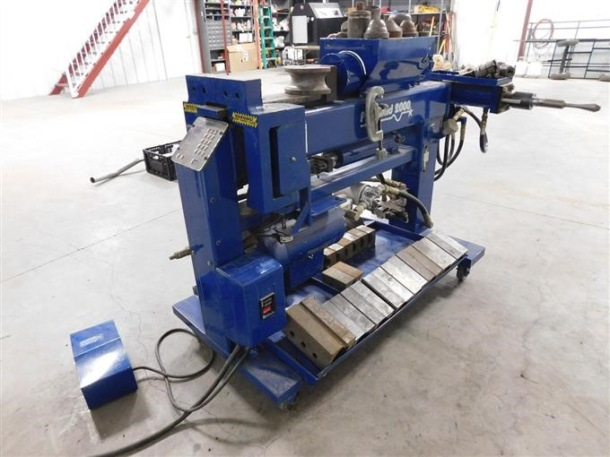 Exhaust Tubing Bender >> Bend Pak Pro Bend 2000 Automatic Hydraulic Exhaust Tubing