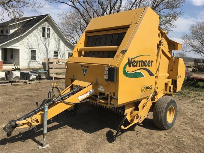 2011 Vermeer 665M Rancher Round Baler BigIron Auctions