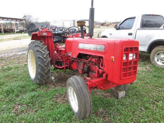 Mahindra 575-DI Salvage 2WD Tractor BigIron Auctions